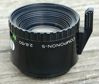 Schneider-Kreuznach Componon-S 50mm f2.8 enlarging lens - Top Quality!