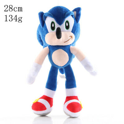 """New 11"""" OFFICIAL SONIC THE HEDGEHOG SONIC  LARGE PLUSH SOFT TOY TEDDY  WITH TAGS"""