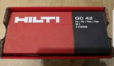 HILTI NAILS GX3. 14mm,17mm.20mm or 39mm 1200Nails And Gas GC 42.new.