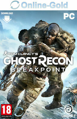 Tom Clancy's Ghost Recon Breakpoint Key - PC Ubisoft Download Codice USK18 - IT