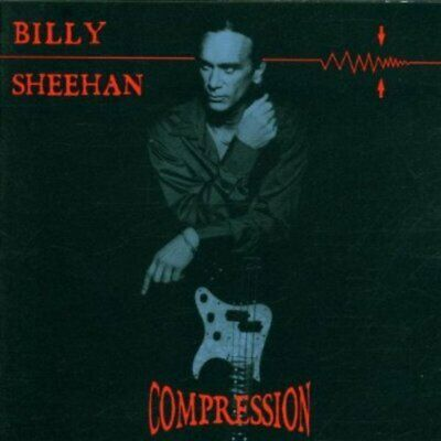 Billy Sheehan ‎(Mr. Big) – Compression / Terry Bozzio Steve Vai CD 2001 Neu