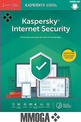 Kaspersky Internet Security 2020 (10user/1year) - 10 Appareil | 1 An - FR & UE