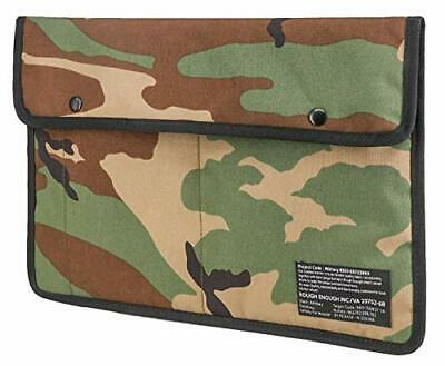 Rough Enough Slim Travel Military EDC Pouch 13 14 Inch Laptop Bag Case (Camo)