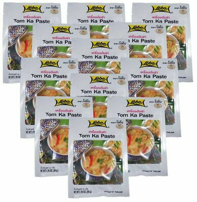 (14,98€/1kg) [ 12x 50g ] LOBO Tom Ka Würzpaste Thai Style / Tom Kha Paste