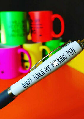 Funny Pens - Rude Cheeky Novelty Office Stationary Secret Santa Sweary PEN15