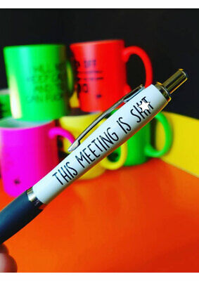 Funny Pens - Rude Cheeky Novelty Office Stationary Secret Santa Sweary PEN16
