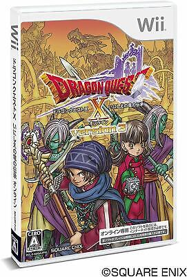 Used DRAGON QUEST X ONLINE VERSION3 Dragon lore of ancient Wii Japan Video Game