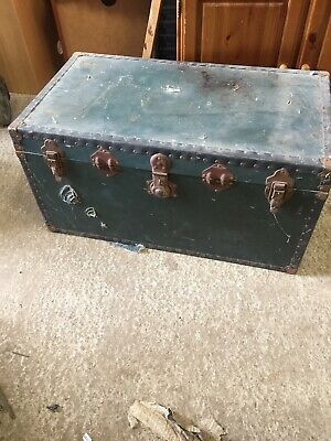 Old Storage Vintage Travelling Trunk Coffee Table Size  17/2/K