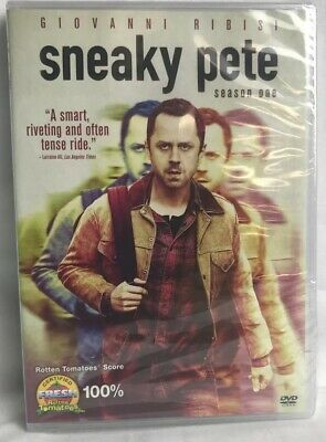 Sneaky Pete: Season One (DVD, 2018, 3-Disc Set) New Free Shipping