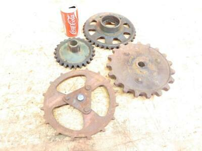 """Antique Cast Iron Industrial Machine Age Gears Cogs SteamPunk Art 6.5"""" to 10"""""""