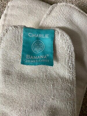 Lot of 8 Medium Large Microfiber, Charlie Banana Brand, Pre-Owned