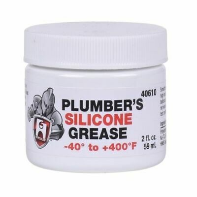 Hercules Plumbers Silicone Grease Lubricant Faucet Stem O Ring And Valve - 40610