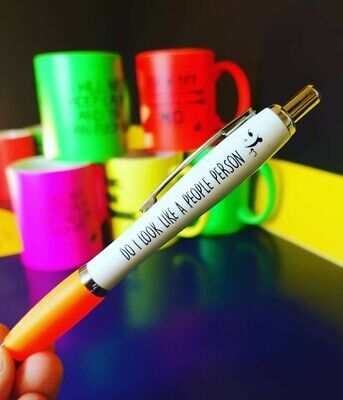 Funny Pens - Rude Cheeky Novelty Office Secret Santa  - PEN40