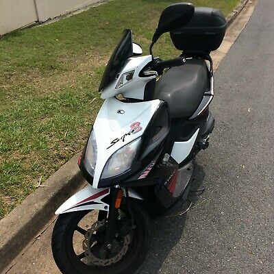 Scooter Kymco Super 8 Moped Bike 50cc Small Mileage Rego 3 Years Warranty