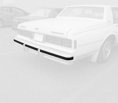 Front Bumper Impact Strip For 94-96 Chevy Caprice GD66Y6