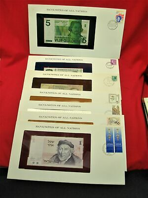 Banknotes Of All Nations - 7 Diff. Countries  - Ch Crisp Unc In Display Env.