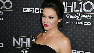 alyssa milano Celebrity Actress 8X10 GLOSSY PHOTO PICTURE IMAGE am11