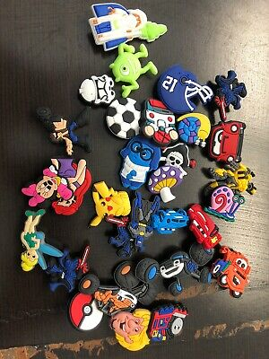 Shoe Charms For Crocs. Pack Of 30 Assorted Figures