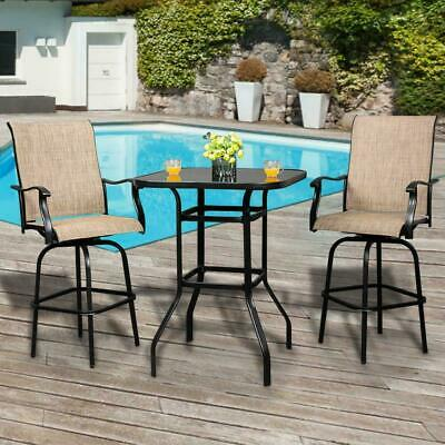 BALI OUTDOOR ALL WEATHER Spring Motion Teslin Patio Dining