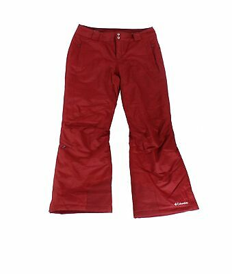 Columbia Womens Pants Wine Red Size XL Bugaboo Omni-Heat Solid Snow $110- 625