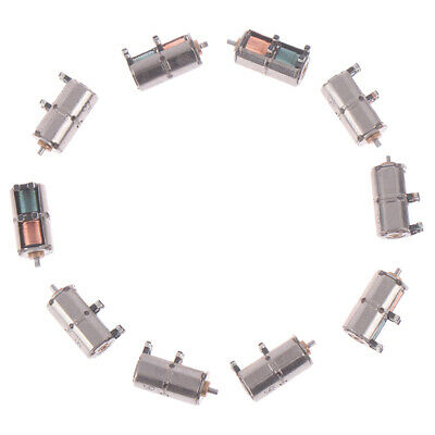 10PCS Mini 4mm 2-Phase 4-Wire Stepper Motor DC 5V Precision Stepping Motor UK