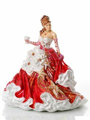 The English Ladies Co Congratulations Ruby Doll Figurine, New And Boxed