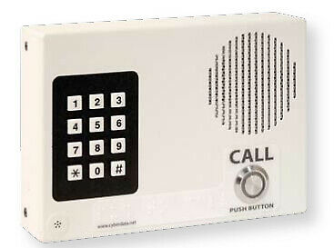 CyberData Systems 0 White 114 x 38 x 165 mm VoIP Indoor Intercom with 11113
