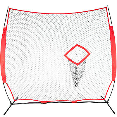 GoSports 8x8 Football Throwing Coach Training Net Improve Passing Accuracy