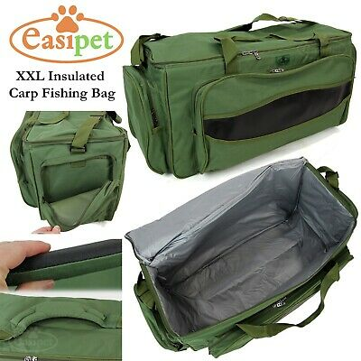XXL Carp Coarse Fishing Tackle Bag Insulated Carryall Holdall Padded Easipet