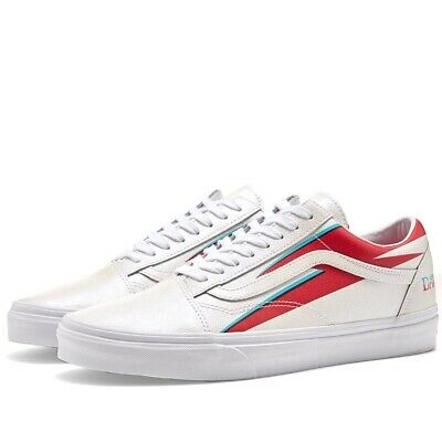 VANS X DAVID Bowie, Old Skool Aladdin Sane, Uk 7.5. EUR 57