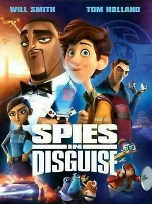 Spies in Disguise (DVD 2019, 2020) NEW Factory Sealed