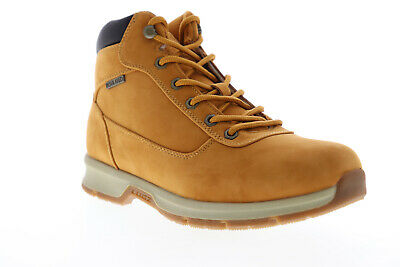 Lugz Rally MRALLYMK-747 Mens Brown Nubuck Lace Up Casual Dress Boots Shoes