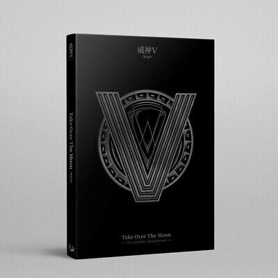 WayV - Take Over The Moon – Sequel CD+72p Photobook+Photocard+Poster+Free Gift
