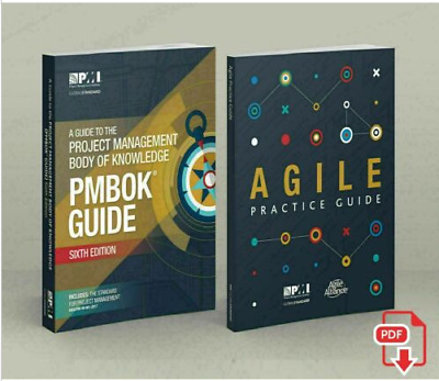 PMBOK Guide 6th Edition + Agile Practice Guide + 1440 PMP Question Bank