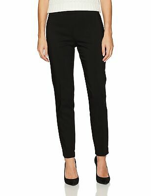 Chaus Womens Dress Pants Black Size Large L Jackie Pull On Stretch $69- 043