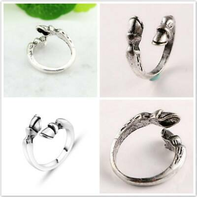 Band Rings Engagement Wedding Statement Adjustable Accessories Jewelry Charms FM
