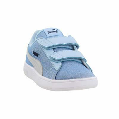 Puma Smash Glitz SL V Infant Sneakers Blue Girls