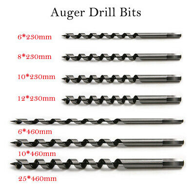 Wood *Top Quality! Walleted Auger drill bit Hex shank 19mm x 235mm