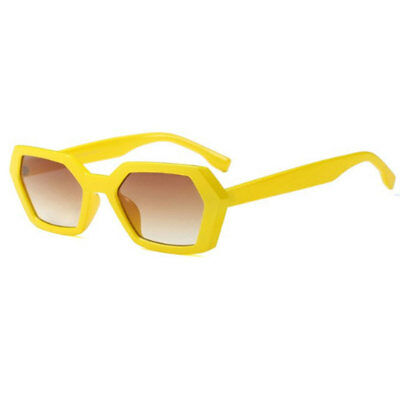 Sunglasses in Yellow Hexagon Yellow Summer Unisex Man Woman Squared