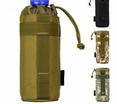 Water Bottle Pouch Bags Holder Pocket Kettle System Tactical Waterproof Gear Bag
