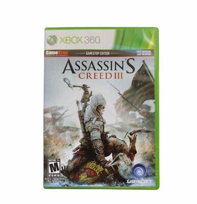 Assassin S Creed Iii Xbox 360 Game Complete 1 97 Picclick