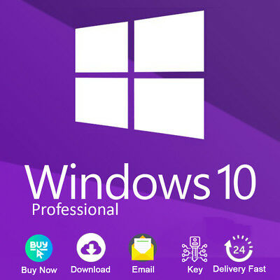 Windows 10 Pro 32/64 bit Product Key Link Download Genuine License