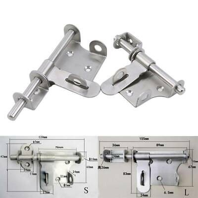 Door Bolt Gate Latch Bolt Box Bolts Accessories Window Lock Stainless Steel FM