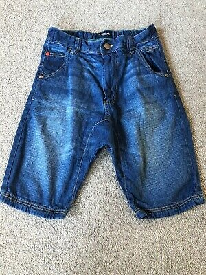 Boys Next Denim Shorts Age 10 Years