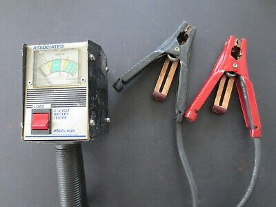 Associated  Battery Tester -- Model 6029 -- 6/12 Volts -- Works Great!