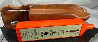 Telco FVD Category IV 3NXR Voltage Detector With Leather Pouch. PRE-OWNED.