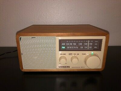 Sangean AM FM Radio WR-11 2 Bands Receiver