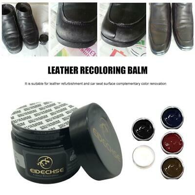 Car Seats Leather Recoloring Balm Renew Restore Repair Color To Faded Scratched