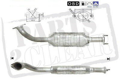 Catalytic Converter Exhaust For Mitsubishi Shogun 3.2 D-Id  4M41 3+5 Door Did
