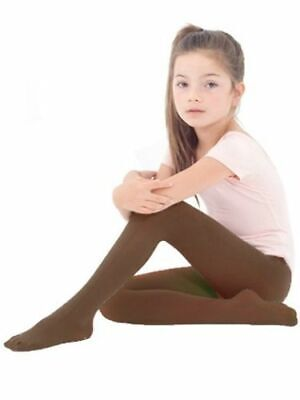 3 Pack Warm Winter Brown Tights Socks Age  5-6, 7-8 Jemsox durable UK Made
